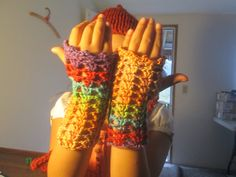 Fingerless Gloves by SuzannesStitches, Driving Gloves, Wrist Warmers, Sport Gloves, Texting Gloves, Gloves, MultiColor Gloves, Winter Gloves by SuzannesStitches on Etsy
