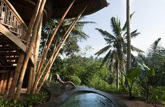 Heu comment dire... SUPER NEED?  http://www.fubiz.net/2012/10/22/green-village-bali/  « Green Village » composé de 15 maisons, situé le long de la rivière Ayung à Bali. Imaginée par Donna Karan, l'ensemble du village est fortement basé sur les concepts de durabilité et de savoir-faire artisanal, car il est construit principalement avec du bambou.