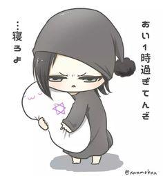 Chibi DOGMA Ruki. Awww~ I love the look on his face! Irritated but cute! (≧ω≦)
