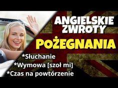 Pożegnania po angielsku - YouTube English, Youtube, English Language, Youtubers, Youtube Movies