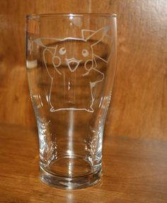 Hey, I found this really awesome Etsy listing at https://www.etsy.com/listing/171177731/etched-pikachu-glass