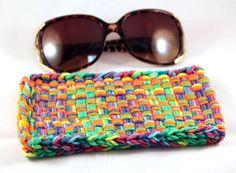 Colorful Cotton Eyeglass Case