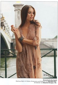 """Romantic"" - Odd Molly lace dress in Frauen Switzerland, November 2010"