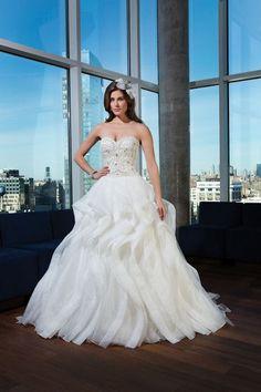 Unique Wedding Dresses for 2015; Justin Alexander - 9750