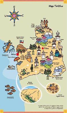 De Revista Buceadores.cl Before I Sleep, South America, Culture, Country, Illustration, Travel, Ideas Para, Maps, Chili