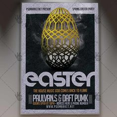 Easter Spring Party - Premium Flyer PSD Template.  #bash #carnival #club #clubflyer #easter #Easterbash #easterbunny #easteregg #Easterevent #easterflyer #egg #egghunt #event #springflyer  DOWNLOAD PSD TEMPLATE HERE: https://www.psdmarket.net/shop/easter-spring-party-premium-flyer-psd-template/  MORE FREE AND PREMIUM PSD TEMPLATES: https://www.psdmarket.net/shop/