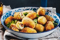 Eat these piping hot to get the most from the crisp crumb and oozy chorizo filling combo.