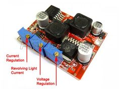 LM2596 DC 4-35V to 1.25-25V Automatic Buck-boost Power Supply Module With charging - 9.5$
