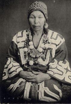 Ainu Elderly Woman