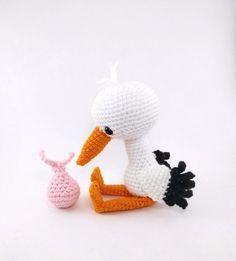 Solly the Stork amigurumi pattern - Amigurumipatterns.net