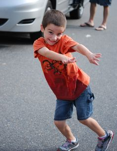 My nephew's ADORABLE son.  He's got some moves.