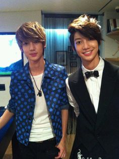 Their just so cute  #Youngmin #Kwangmin