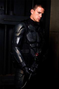 Channing Tatum in G.I. Joe: The Rise of Cobra... What?!