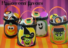 Amanda's Parties To Go: Halloween Classroom Favors