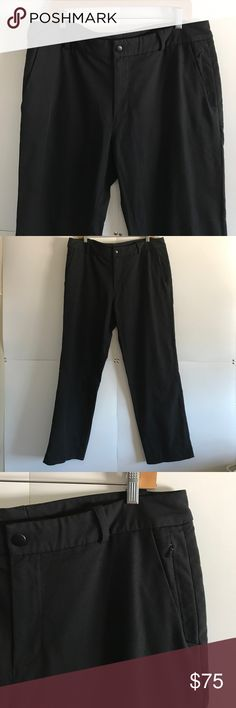 "LULULEMON Men's ABC Pants Size 38 In Great Condition!! Have been professionally hemmed. Waist: 19"" Inseam: 31"" lululemon athletica Pants"