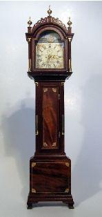 Simon Willard Grandfather Clock - PHYLLIS HAWKES STUDIO