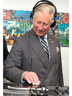 Prince Charles Tries His Hand at Being a Deejay | Prince Charles