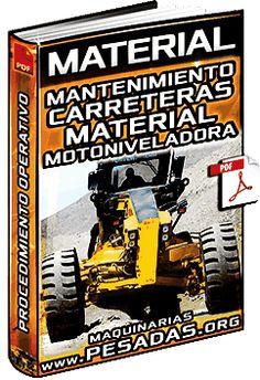 Ver Material de Mantenimiento de Carreteras con Material in Situ con Motoniveladoras
