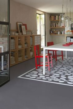 1000 ideas about peinture sol beton on pinterest - Peinture loft sol ...