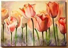 Fabric Painting, Watercolor Paintings, Water Flowers, Flower Fairies, Arte Floral, Art For Art Sake, Flower Photos, Spring Flowers, Wallpaper