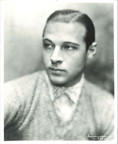 Rudolph Valentino Wearing a Sweater and Bow Tie Taken By Henry Waxman Rudolph Valentino, Silent Film, 1920s, Cinema, Faces, Bows, Tie, Best Deals, People