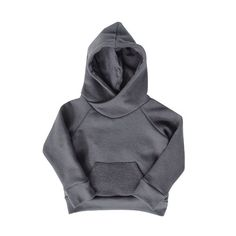 'Not So Basics' Cowl Hoody - mini mioche - organic infant clothing and kids clothes - made in Canada Kid Styles, Whats New, Hoody, Cowl, Infant Clothing, Sweatshirts, Mini, Sweaters, How To Make