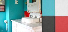 Bathroom Color Ideas: Palette and Paint Schemes
