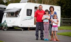 The Meek family swapped mortgage, work and school for a year of adventures around the UK – their home: a caravan, their classroom: the great outdoors