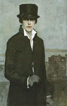 Romaine Brooks, Self-Portrait, 1923