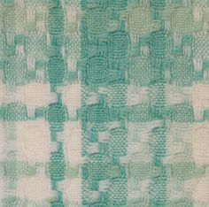 Lanificio Rita Rossi sample book; sample of wool blend realized with composite weave (plain and hopsack weave).