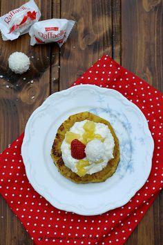 Experimente aus meiner Küche: Gegrillte Ananas mit Raffaelloquark