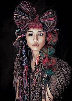 http://estetica.it/int/ | Hair: F_O_U_R Hair Concept / Photo: Ming-Shi Jiang / Make-up: Yui-Hung, Hanya, Novia / Styling: Ting-Yu Wang
