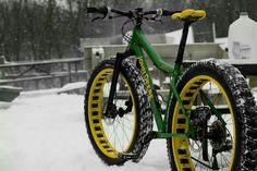 Snow bike - What we need this winter!