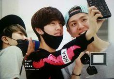Youngjae, Mark and Yugyeom