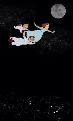 Peter Pan disney iphone wallpaper