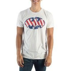 Batman Logo Ameri... just added  http://shop.boroughkings.com/products/batman-logo-americana-mens-whi-t-shirt?utm_campaign=social_autopilot&utm_source=pin&utm_medium=pin is where you can find it