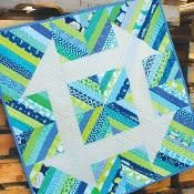Churndash Court Quilt Pattern - via @Craftsy