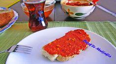 Dilek'le Mutfakta: Acuka,Muhammara,AcılıKırmızı Biber Sosu Yapımı