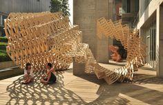 Urban Lab Global Cities (ULGC): O-STRIP Pavilion by Tongji University Team