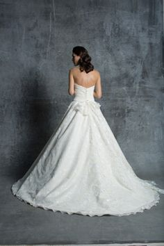 Silk floral ball gown: http://www.stylemepretty.com/lookbook/designer/isabelle-armstrong/ #SMPLookBook