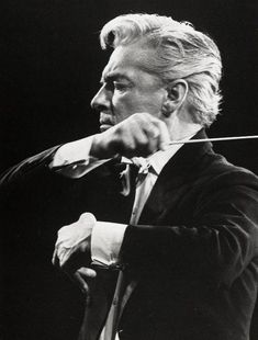 Herbert von Karajan: My Favourite conductor. Herbert Von Karajan, Sound Of Music, Music Is Life, Music Classique, Classical Music Composers, Amadeus Mozart, Music Images, Concert Hall, Conductors
