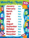 """Checkout the """"Months of the Year (Owl-Stars!®) Learning Chart"""" product"""