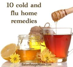 10 natural cold and flu home remedies.