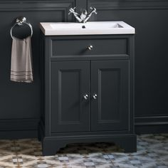Looking for understated sophistication in a basin vanity unit? Introducing the Loxley charcoal grey vanity unit! Bathroom Basin Units, Cloakroom Vanity Unit, Sink Vanity Unit, Bathroom Storage, Charcoal Bathroom, Beige Bathroom, Wooden Bathroom, Office Bathroom, Bathroom Furniture