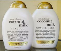 Beauty Test Dummies: Organix Coconut Milk Shampoo and Conditioner