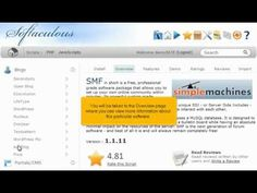 View the following tutorial on how to install Smf in 1 minute with 1 click!!  Smf web hosting with http://giganetwebhosting.com Fast and Easy.