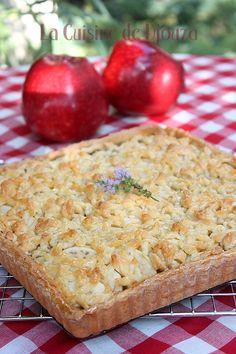 tarte gourmande pommes poires caramel beurre salé