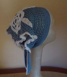 PDF Instant Download Crochet PATTERN No 005 Blue by JTeasycrochet