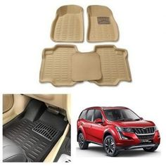 Mahindra XUV 500 2018 Car 4D Cream Floor Mats Price-450/- Car Accessories List, Jetta Car, Volkswagen Jetta, Elantra Car, Car Body Cover, Maruti Suzuki Alto, Reverse Parking, Car Seat Cushion, Wooden Car