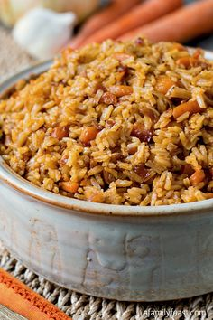 Use GF bacon fat, broth and Prosciutto! Nourishing Rice (Arroz de Sustancia) - A Family Feast
